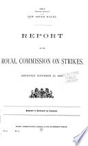 Report of the Royal Commission on Strikes
