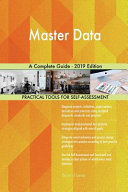 Master Data A Complete Guide   2019 Edition Book