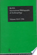 Ibss Anthropology 1996