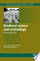 Biodiesel Science and Technology