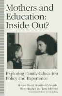 Mothers and Education  Inside Out