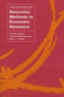 Solutions Manual for Recursive Methods in Economic Dynamics Pdf/ePub eBook