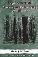 Legal Aspects of Owning and Managing Woodlands