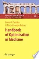 Handbook Of Optimization In Medicine Book PDF