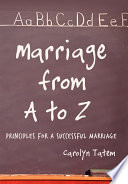 Marriage From A To Z Book PDF