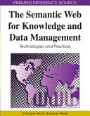 The Semantic Web for Knowledge and Data Management