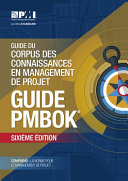 Guide to the Project Management Body of Knowledge (PMBOK® Guide)–Sixth Edition (FRENCH) Pdf/ePub eBook