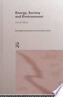 Energy  Society  and Environment Book