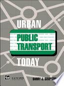 Urban Public Transport Today Book PDF