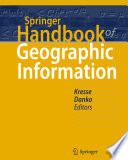 Read Online Springer Handbook of Geographic Information For Free