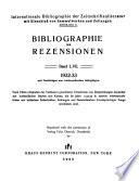 Bibliographie der Rezensionen