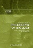 Contemporary Debates in Philosophy of Biology