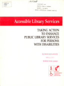 Accessible Library Services Book PDF