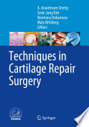 Techniques In Cartilage Repair Surgery Book PDF