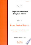 High Performance Polymer Fibres Book