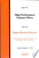 High Performance Polymer Fibres