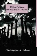 Pdf William Faulkner and the Rites of Passage