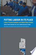 Putting Labour in Its Place Book