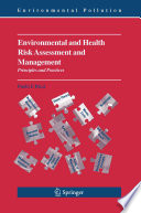 Environmental And Health Risk Assessment And Management Book PDF