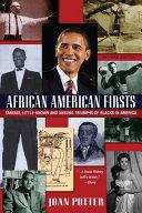 African American Firsts, 4th Edition Pdf/ePub eBook
