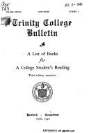 A List of Books for a College Student s Reading