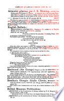 Catalogues No. 111-114, 137, 141, 147, 148, 151