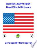 Essential 120000 English Nepali Words Dictionary