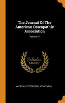 The Journal of the American Osteopathic Association