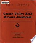 California  Carson Valley Area