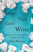 Why They Can't Write [Pdf/ePub] eBook
