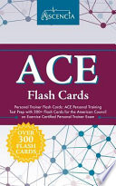 ACE Personal Trainer Flash Cards