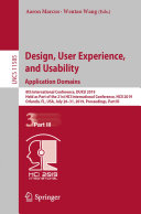 Pdf Design, User Experience, and Usability. Application Domains Telecharger