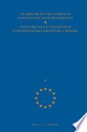 Yearbook Of The European Convention Of Human Rights Annuaire De La Convention Europeene Des Droits De L Homme 2000