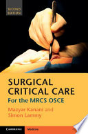 Surgical Critical Care Book PDF