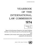 Yearbook of the International Law Commission 1974, Vol.II, Part 2 Pdf/ePub eBook