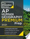 Princeton Review AP Human Geography Premium Prep, 2021
