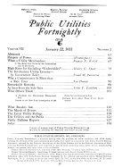 Public Utilities Fortnightly Book