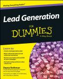 Lead Generation For Dummies