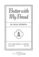 Butter With My Bread PDF