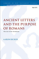 Pdf Ancient Letters and the Purpose of Romans Telecharger