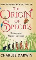 The Origin of Species Book