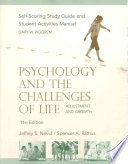 Psychology and the Challenges of Life, Study Guide