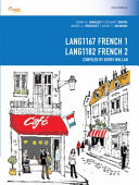 Cover of CP1086 - LANG1167 French 1 / LANG1182 French 2