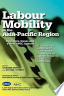 Labour Mobility in the Asia Pacific Region