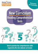 New Curriculum Reading Comprehension Tests Year 5