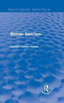 Pdf Roman Stoicism (Routledge Revivals) Telecharger