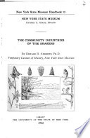 The community industries of the Shakers