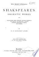 Shakespeare s Dramatic Works Book PDF