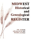 Midwest Historical And Genealogical Register