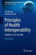 Pdf Principles of Health Interoperability Telecharger